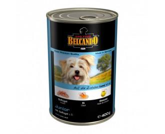 Belcando Junior Huhn mit Ei Nassfutter für Hunde