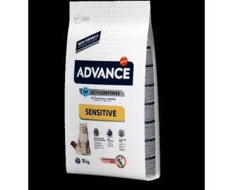 Advance adult Lachs und Reis Trockenfutter für ausgewachsene Katzen