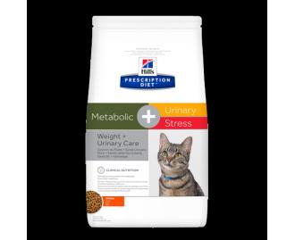Hill's Prescription Diet Feline Metabolic + Urinary Trockenfutter für Katzen