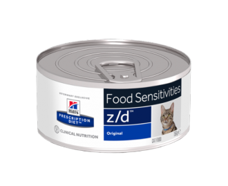 Hills ZD Feline z/d Ultra Low Allergen (Dose) 156 grs. PD - Prescription Diet für Katzen