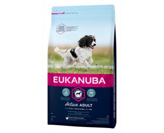 Eukanuba Adult Maintenance Trockenfutter für Hunde mittelgrosse Rassen