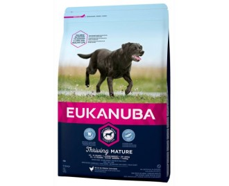 Eukanuba Senior Trockenfutter für ältere Hunde grosse Rassen