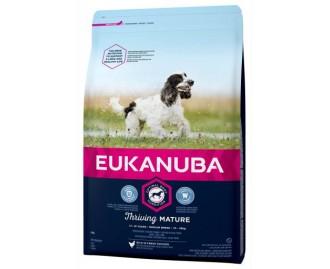 Eukanuba Senior Trockenfutter für ältere Hunde mittelgrosse Rassen