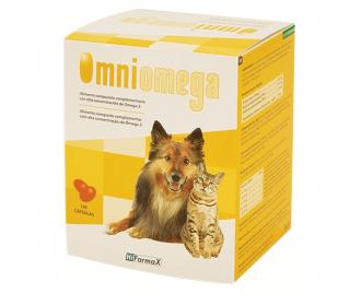 Hifarmax Omniomega Nahrungsergänzungsmittel für Hunde und Katzen
