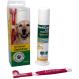 Dentican Zahnbürste und Zahnpasta für Hunde
