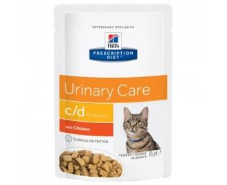 Hills PD Feline c/d Diät für Katzen (Beutel)