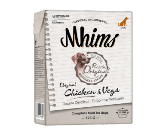 Mhims Chicken & Vegetables Natürliche Nahrung für den Hund
