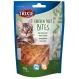 2x1 Leckerlis für Katzen, Light Filet Bits Huhn 50g TRIXIE