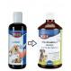 2x1 Lachsöl für Hunde und Katzen, Trixie 250 ml