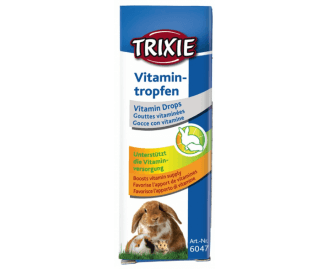 Vitaminas para Nagetiere in liquido gotas 15ml TRIXIE