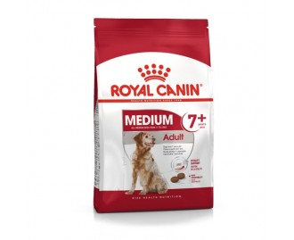 Royal Canin Trockenfutter für Hunde medium adult 7+