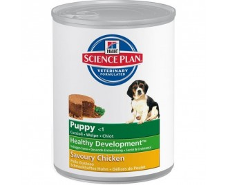 Hills Puppy Healthy Development mit Huhn Dose 370 gr. Science Plan für Hunde