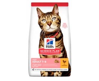 Hills Adult Light mit Huhn Science Plan Trockenfutter für Katzen