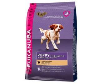 Eukanuba Puppy Lamm & Reis Trockenfutter für Welpen Lamm und Reis