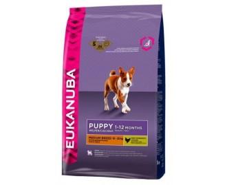 Eukanuba Puppy Medium Breed für Welpen mittelgrosser Rassen