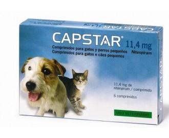 CAPSTAR 6 Tabletten für Hunde und Katzen