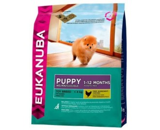 Eukanuba Trockenfutter für Welpen Toy miniatura
