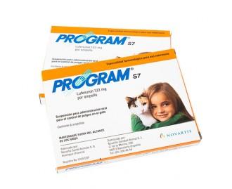 Programm-s7 Ungezieferschutzmittel für Katzen 6 Ampullen