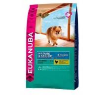 Eukanuba Trockenfutter für Hunde Mature razas Toy Miniatura