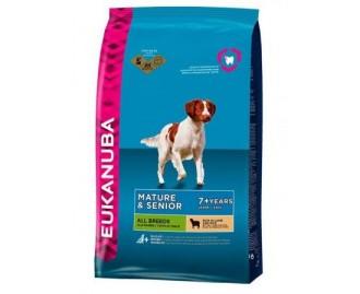 Eukanuba Senior Lamm & Reis Trockenfutter für ältere Hunde