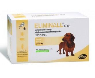 Eliminall Pipetten gegen Ungeziefer für Hunde [2 Formate - 4 Grössen]