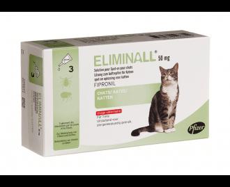 Eliminall Pipetten gegen Ungeziefer für Katzen [2 Grössen]