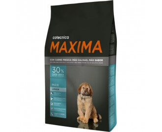 Maxima Maxi Junior Trockenfutter für Hunde