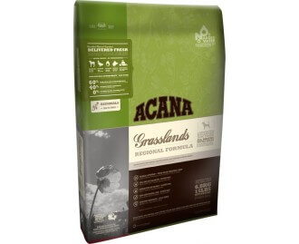 Acana Grasslands Trockenfutter für Hunde (getreidefrei)