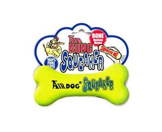 AIR KONG Spielzeug für Hunde Air Kong Squeaker Knochen