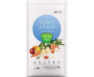 Natura Diet Puppy Junior Trockenfutter für Welpen mittelgrosser Rassen