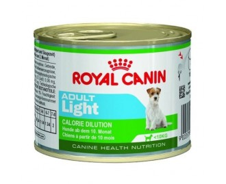 Royal Canin Nassfutter light in Dosen für ausgewachsene Hunde für kleine Rassen