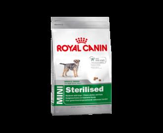 Royal Canin mini sterilised adult Trockenfutter für Hunde kleiner Rassen