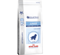 Royal canin pediatric junior large dog Vet Size für grosse Hunde