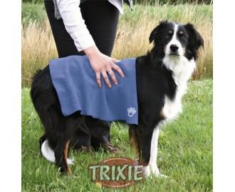 Toalla para perros TRIXIE zusätzliche secado 50x60 cm. Azul