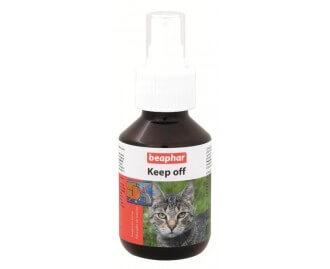 Beaphar Katzen keep off Mittel gegen Ungeziefer für Katzen 100 ml
