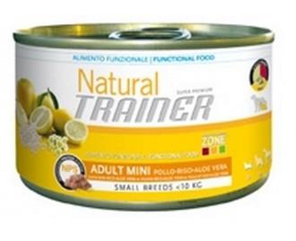 Pack 24 Einheiten Dose Trainer für Hunde Adult mini chicken rice & aloe vera 150 gr