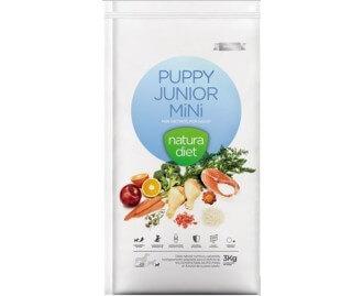 Natura Diet Puppy Junior Mini Kroketten für Welpen kleiner Rassen