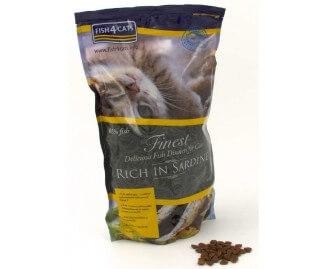 Fish4cats Trockenfutter für Katzen mit Sardinen