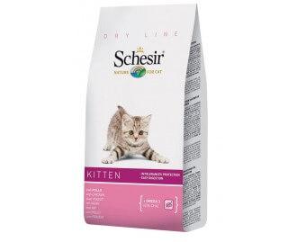 Schesir Trockenfutter für kleine Kätzchen mit Huhn