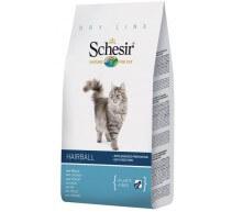 Schesir Trockenfutter für ausgewachsene Katzen Hairball