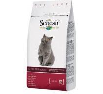 Schesir Trockenfutter für Katzen Light & Sterilised