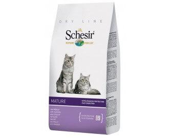 Schesir mature senior Trockenfutter für Katzen