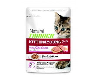 Trainer Trockenfutter für Katzen Junior